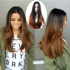 Synthetic Hair full head wig middle part wig bang wig