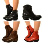 Santiags Bottes Femmes Cuir de Moto Cuissardes Authentique Made in Italy 400