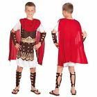 Boys Child Roman Centurion Gladiator Army Soldier Fancy Dress Costume 3-13 Years
