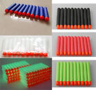100pcs Soft Darts Round Head Refill Blasters For Nerf N-strike Toy Guns 5colors