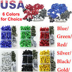 Anodized Motorcycle Sportbike Windscreen Fairing Bolts Kit Fastener Clips Screws $22.48 USD on eBay