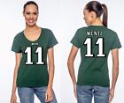 Carson Wentz Philadelphia Eagles 11 NFL Jersey Style Graphic T Shirt Womens