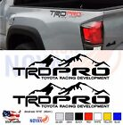 TRD PRO  Decals Toyota Tundra Tacoma Truck Bed Vinyl Stickers
