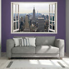 New York Skyline Print Wall Sticker Solvent Ink Vinyl Transfer Wall Sticker pr1