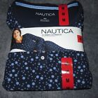 NAUTICA 2 Piece Microfleece PAJAMA SET MEDIUM/XXL **NEW** FREE PRIORITY SHIPP