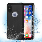 Waterproof Heavy Duty Tough Hard Case Cover For Apple iPhone X 6 6s 7 8 Plus
