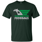 Washington Federals USFL Football - G200 Gildan Ultra Cotton T-Shirt image
