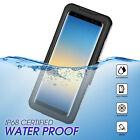 For Samsung Galaxy Note 8 Clear Shockproof Waterproof Dirt Proof Case Full Cover