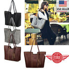 Women Leather Tote Bag Handbag Lady Purse Shoulder Messenger Satchal Bags Tds11