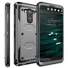 For LG V10 Heavy Duty Rugged Shockproof Hybrid Rubber Hard Protective Case Cover