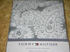 Tommy Hilfiger MISSION PAISLEY Grey & Off-white Cotton Tablecloths or Napkins