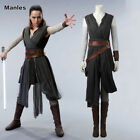 2017 Star Wars The Last Jedi Rey Cosplay Costume New Year Woman Stage Outfit New $131.27 CAD on eBay