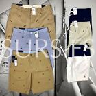 POLO RALPH LAUREN SHORTS Boys / Young Men's Royal Blue Embroidered Sailing Flags