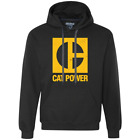 Cat Power, Machine, Construction, Equipment, Excavator Caterpillar Hoodie