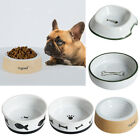 Pet Dog Feeder Dog Water Bowl Dog Supplies Dishes Feeders Fountains Ceramics
