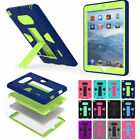 Shockproof Protective Kickstand Case Cover for New iPad 4 Mini 1 2 3 Air Pro 9.7