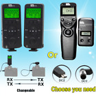 Pixel FSK2.4G wireless LCD Shutter release timer remote control For Nikon camera