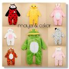 Baby Animal Romper Fleece One Piece Outfit Costume Party Carnival Fancy Dress