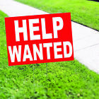 Help Wanted Red Patient Hospital Coroplast Yard Sign