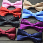 Lots of quality paisley checks dot pre tied bow ties neck ties clip on bow ties