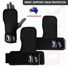 Weight Lifting Gym Grip Straps Palm Protection Wrist Support Training Gloves 2X