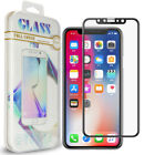 Tough Armour Case + 3D Real Glass Screen For A pple i Phone X / 10 - US Seller