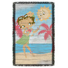 "Betty Boop ""Hula Boop"" Dye Sublimation Blanket/Throw $42.07 CAD"