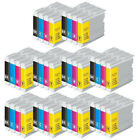 LOT Ink Cartridges for Brother LC1000 LC970 DCP135C MFC235C MFC440CN