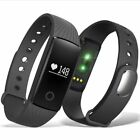 ID107 Bluetooth Smart Watch Bracelet Heart Rate Monitor Sport Fitness Tracker