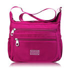 Women Nylon Waterproof Crossbody Messenger Bag Lady Shoulder Bag Handbag Purse