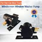 Windscreen Window Washer Pump Spray Motor 12V For Van Car Bus Truck Universal
