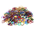 3200pc Colored Confetti 7/15mm Sparkling Love Heart Wedding Party Valentines Day