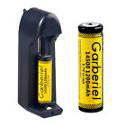 Garberiel 1200mAh Li-ion 3.7V Rechargeable 14500 Battery + US Smart Charger