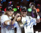Aaron Rodgers and Clay Matthews Autographed 8x10 Photo Reprint Greenbay Packers