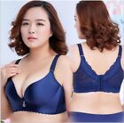 Women Full Coverage Wire Less Smooth  Push Up Bra Big Size 34-50 C D DD #Q2701
