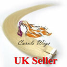 "7A* Best Quality 14''-24"" Tape-In Russian Remy Human Hair Extensions UK Sell 1st"
