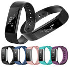 Smart Watch Bluetooth Wristband Bracelet Pedometer Fitness Tracker ID115 VVUS