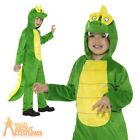 Child Crocodile Costume Alligator Book Week Day Girls Boys Fancy Dress Outfit