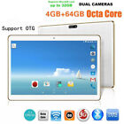 10.1 Inch 4G + 64G Android 6.0 Dual Sim Dual Camera Phone Wifi Phablet Tablet PC