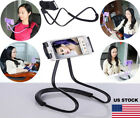 USA Universal Lazy Neck Desk Stand Holder Mount Bracket for Mobile Phone Samsung