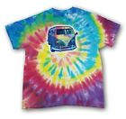 VW Bus Tie Dye Men's T-shirt Volkswagen Official Product
