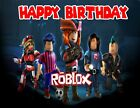 Roblox Personalized Edible Print Premium Cake Topper Frosting Sheets 5 Sizes