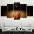 5 Piece Canvas Art HD Printed Basketball Course Painting Wall Pictures