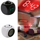Multi-function Digital LCD Voice LED Projection Temperature Snooze Alarm Clock