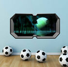 3D MULTI COLOR SPACE PLANETS WINDOW WALL ART STICKERS DECAL TRANSFER WSDFC57