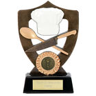 COOKERY TROPHY 2 SIZES AVAILABLE ENGRAVED FREE COOKING CHEF BAKE OFF TROPHIES