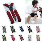 Внешний вид - Suspenders Baby Pants Boy Adjustable Kids Elastic Braces Clip-on 2.5cm Children