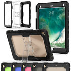 Shockproof Hybrid Rugged Rubber Heavy Box Case For iPad 9.7 5th Gen Mini Air Pro