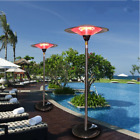 Vertical contractile Outdoor umbrella electric heater vertical stainless steel O