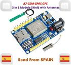 A7 GSM GPRS GPS 3 In 1 Module Shield DC 5-9V STM32 51MCU Support Voice Message